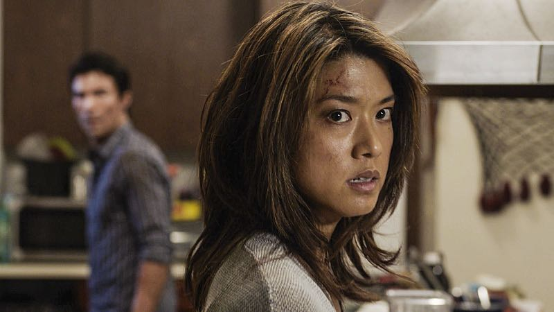 """Ka hale ho'okauweli"" -- On Halloween, Five-0 investigates the murder of a medium with a checkered past who was apparently scared to death by a poltergeist. Also, Kono and Adam are kidnapped by what appears to be a death cult, on HAWAII FIVE-0, Friday, Oct. 28 (9:00-10:00 PM, ET/PT), on the CBS Television Network. Pictured: Grace Park as Kono Kalakaua. Photo: CBS ©2016 CBS Broadcasting, Inc. All Rights Reserved"