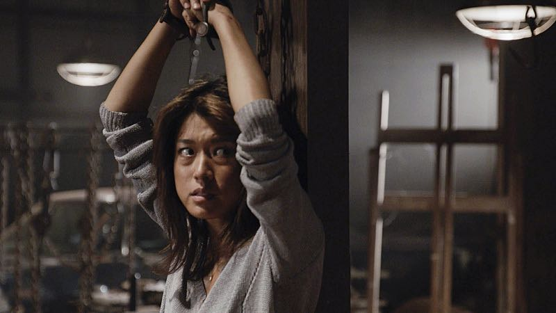 """""""Ka hale ho'okauweli"""" -- On Halloween, Five-0 investigates the murder of a medium with a checkered past who was apparently scared to death by a poltergeist. Also, Kono and Adam are kidnapped by what appears to be a death cult, on HAWAII FIVE-0, Friday, Oct. 28 (9:00-10:00 PM, ET/PT), on the CBS Television Network. Pictured: Grace Park as Kono Kalakaua. Photo: CBS ©2016 CBS Broadcasting, Inc. All Rights Reserved"""