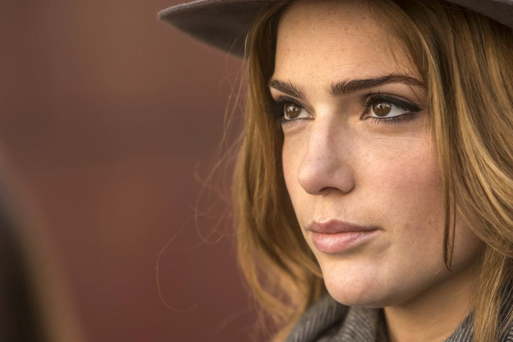 "THIS IS US -- ""The Pool"" Episode 104 -- Pictured: Janet Montgomery as Olivia -- (Photo by: Ron Batzdorff/NBC)"