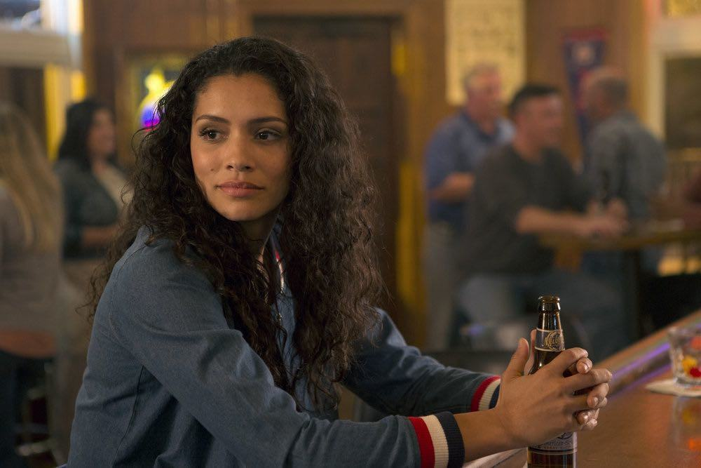 "CHICAGO FIRE -- ""Scorched Earth"" Episode 503 -- Pictured: Miranda Rae Mayo as Stella Kid -- (Photo by: Parrish Lewis/NBC)"