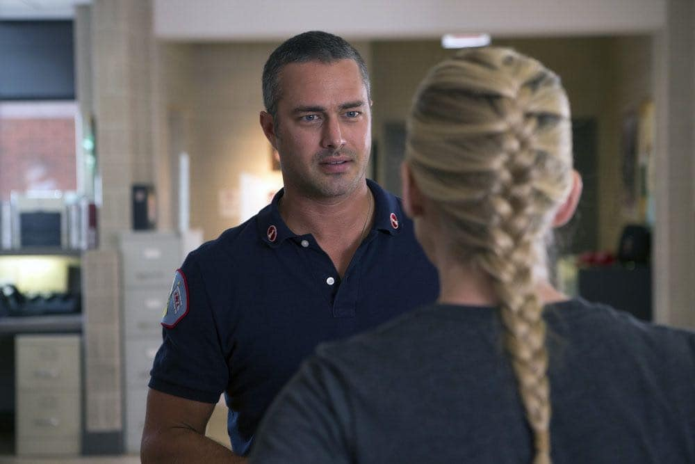 "CHICAGO FIRE -- ""Scorched Earth"" Episode 503 -- Pictured: Taylor Kinney as Kelly Severide -- (Photo by: Parrish Lewis/NBC)"