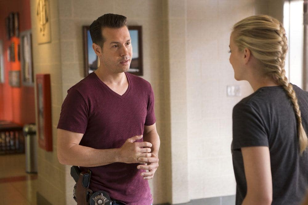 "CHICAGO FIRE -- ""Scorched Earth"" Episode 503 -- Pictured: Jon Seda as Antonio Dawson -- (Photo by: Parrish Lewis/NBC)"
