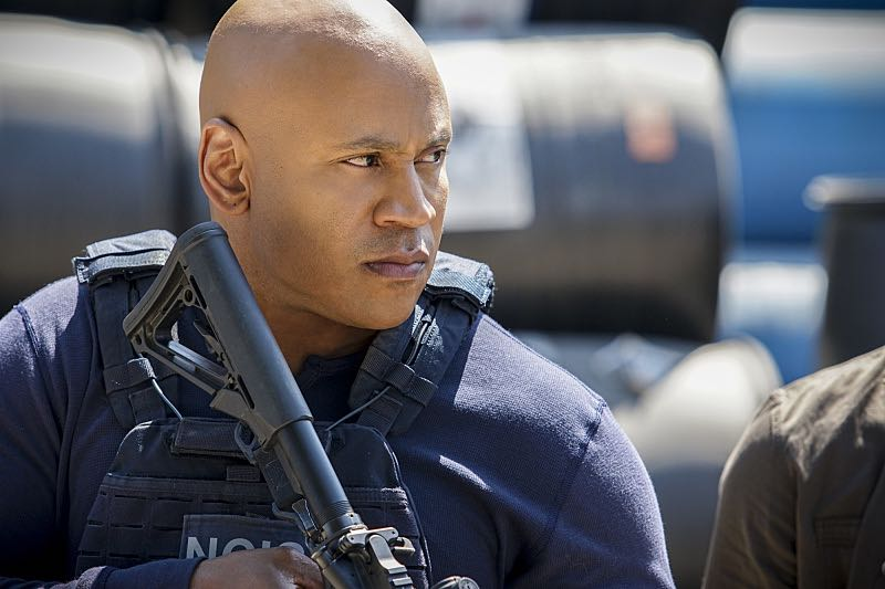 """Home Is Where the Heart Is"" -- Pictured: LL COOL J (Special Agent Sam Hanna). After a maintenance man saved the life of a Lt. Commander, the NCIS team uncovers his dark past which puts a local teenager in danger. Also, Sam must decide which colleague to take to the Los Angeles football game, on NCIS: LOS ANGELES, Sunday, Oct. 30 (8:00-9:00 PM, ET/PT), on the CBS Television Network. Photo: Erik Voake/CBS ©2016 CBS Broadcasting, Inc. All Rights Reserved."