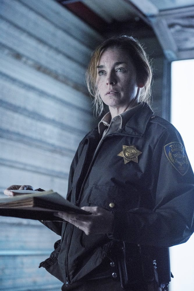 "EYEWITNESS -- ""Bless the Beast and the Children"" Episode 102 -- Pictured: Julianne Nicholson as Helen Torrance -- (Photo by: Christos Kalohoridis/USA Network)"
