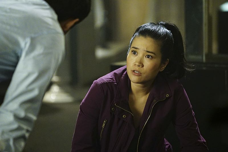 """""""Plight at the Museum"""" -- Team Scorpion's simple job at the Los Angeles Natural History Museum turns deadly when they discover thieves robbing a rare gem exhibit in order to get materials needed to enrich a nuclear bomb, on SCORPION, Monday, Oct. 24 (10:00-11:00 PM, ET/PT), on the CBS Television Network. Pictured: Jadyn Wong. Photo: Sonja Flemming/CBS ©2016 CBS Broadcasting, Inc. All Rights Reserved"""