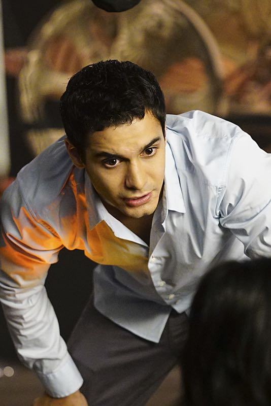 """""""Plight at the Museum"""" -- Team Scorpion's simple job at the Los Angeles Natural History Museum turns deadly when they discover thieves robbing a rare gem exhibit in order to get materials needed to enrich a nuclear bomb, on SCORPION, Monday, Oct. 24 (10:00-11:00 PM, ET/PT), on the CBS Television Network. Pictured: Elyes Gabel. Photo: Sonja Flemming/CBS ©2016 CBS Broadcasting, Inc. All Rights Reserved"""