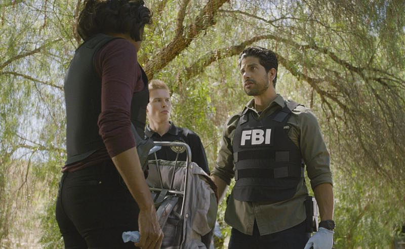 """""""Keeper"""" -- The BAU team searches for a serial killer along the Appalachian Trail in rural Virginia, on CRIMINAL MINDS, Wednesday, Oct. 26 (9:00-10:00 PM, ET/PT), on the CBS Television Network. Pictured: Adam Rodriguez (Luke Alvez) Photo: CBS ©2016 CBS Broadcasting, Inc. All Rights Reserved"""