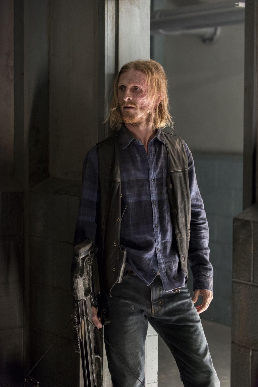 Austin Amelio as Dwight- The Walking Dead _ Season 7, Episode 2 - Photo Credit: Gene Page/AMC