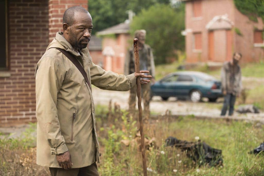 Lennie James as Morgan Jones- The Walking Dead _ Season 7, Episode 3 - Photo Credit: Gene Page/AMC