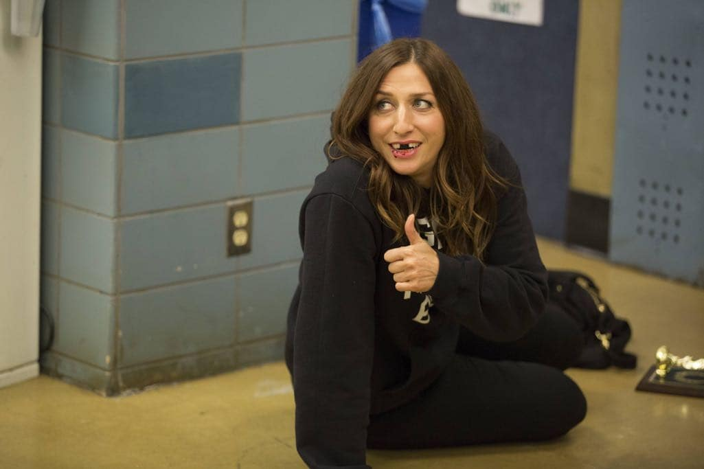 "BROOKLYN NINE-NINE: Chelsea Peretti in the ""Halloween IV"" episode of BROOKLYN NINE-NINE airing Tuesday, Oct. 18 (8:00-8:31 PM ET/PT) on FOX. CR: John P Fleenor/FOX"