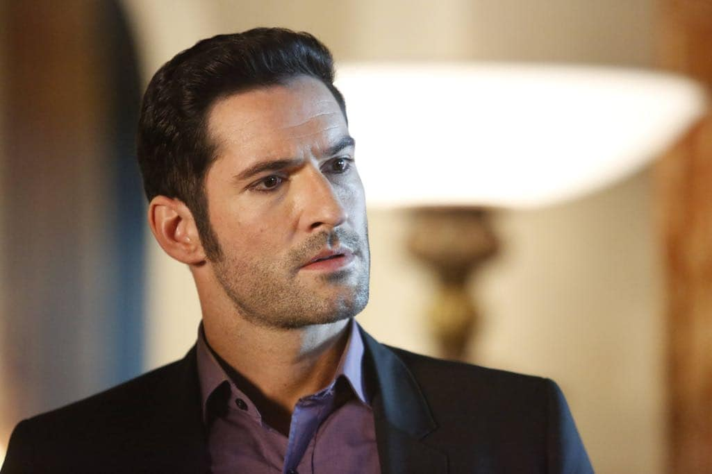 "LUCIFER: Tom Ellis in the ""Lady Parts"" episode of LUCIFER airing Monday, Oct. 17 (9:01-10:00 PM ET/PT) on FOX. ©2016 Fox Broadcasting Co. Cr: Bettina Strauss/FOX."