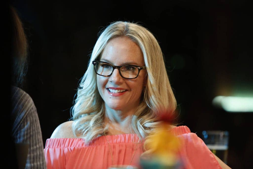 "LUCIFER: Rachael Harris in the ""Lady Parts"" episode of LUCIFER airing Monday, Oct. 17 (9:01-10:00 PM ET/PT) on FOX. ©2016 Fox Broadcasting Co. Cr: Bettina Strauss/FOX."