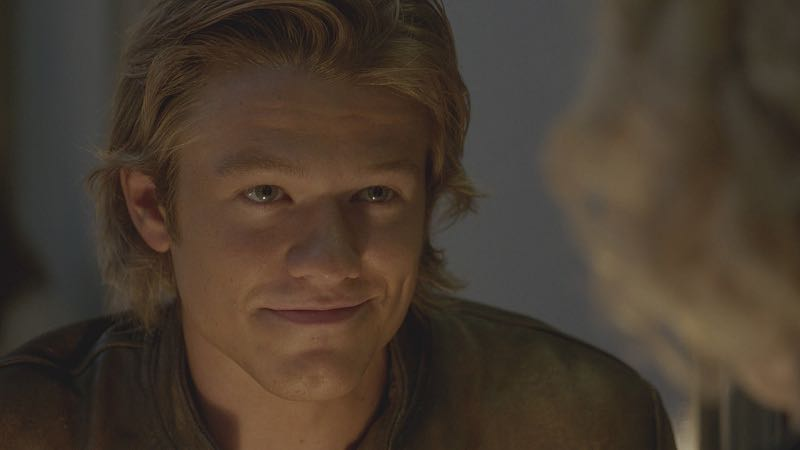"""Toothpick"" -- Using only an armrest, a curtain rod and a toothpick, MacGyver must fix a sabotaged train in order to protect a whistleblower who has proof that her boss is selling weapons to U.S. enemies, on MACGYVER, Friday, Oct. 21 (8:00-9:00 PM, ET/PT) on the CBS Television Network. Pictured: Lucas Till. Photo: CBS ©2016 CBS Broadcasting, Inc. All Rights Reserved"