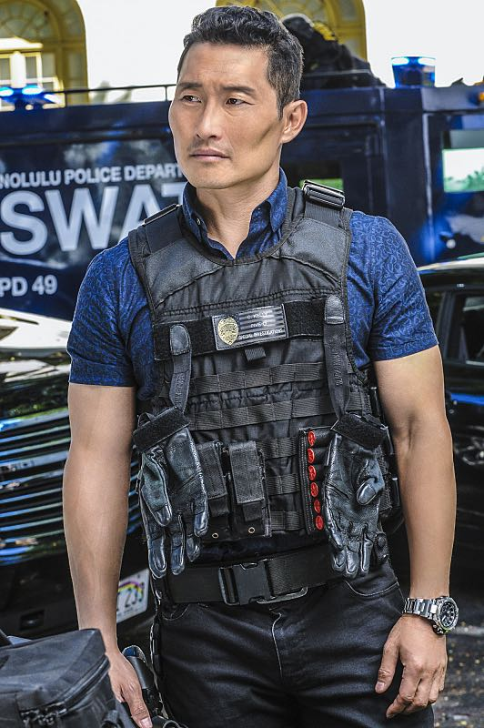 """""""Ke Kū 'Ana"""" -- When a cache of guns is stolen from a gun range, Five-0 discovers the culprit is intent on making a dramatic and potentially deadly statement on gun violence. Also, Kono and Adam are finally reunited when he is released from prison, on HAWAII FIVE-0, Friday, Oct. 21 (9:00-10:00 PM, ET/PT), on the CBS Television Network. (""""Ke Kū 'Ana"""" is Hawaiian for """"The Stand"""") Pictured: Daniel Dae Kim as Chin Ho Kelly. Photo: Norman Shapiro/CBS ©2016 CBS Broadcasting, Inc. All Rights Reserved"""