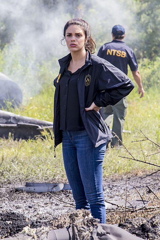 """Course Correction"" -- NCIS and FBI investigate a private plane crash in the bayou that killed three sailors. Also, Sonja and Lasalle interview candidates for the team's open agent position, on NCIS: New Orleans, Tuesday, Oct. 25 (10:00-11:00, ET/PT), on the CBS Television Network. Pictured: Vanessa Ferlito as FBI Special Agent Tammy Gregorio Photo: Skip Bolen/CBS ©2016 CBS Broadcasting, Inc. All Rights Reserved"