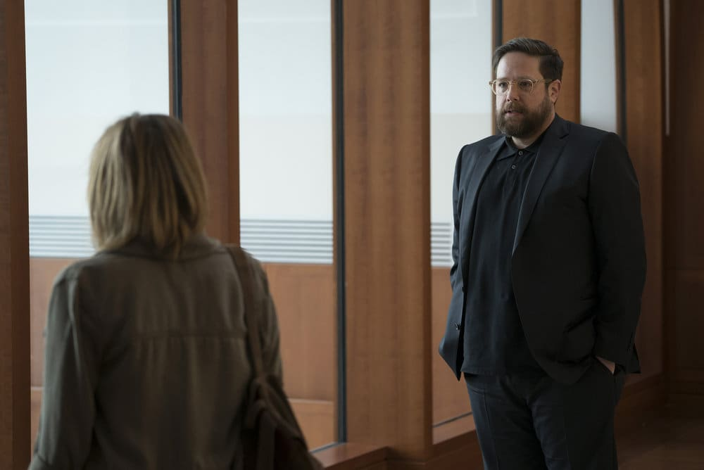 "FALLING WATER -- ""Calling the Vasty Deep"" Episode 102 -- Pictured: Zak Orth as Bill Boerg -- (Photo by: Peter Kramer/USA Network)"