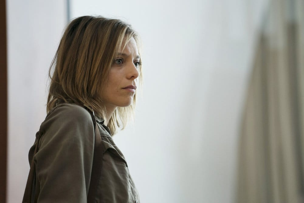 "FALLING WATER -- ""Calling the Vasty Deep"" Episode 102 -- Pictured: Lizzie Brochere as Tess -- (Photo by: Peter Kramer/USA Network)"