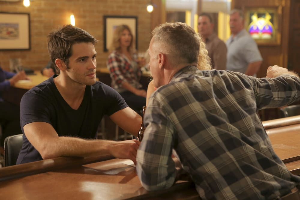 """CHICAGO FIRE -- """"A Real Wake-up Call"""" Episode 502 -- Pictured: Steven R. McQueen as Jimmy Borrelli -- (Photo by: Parrish Lewis/NBC)"""