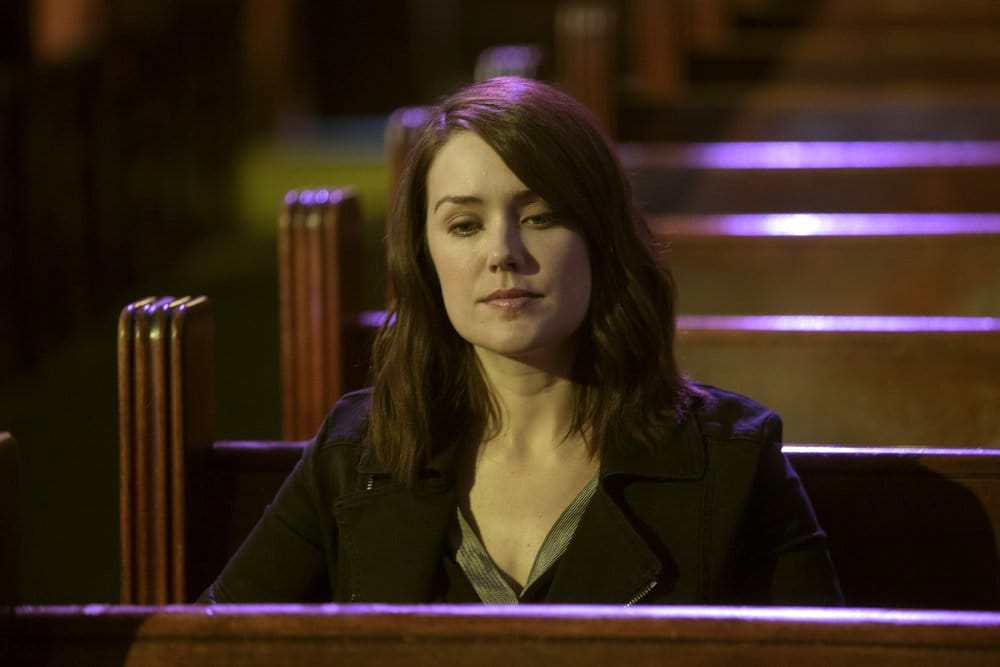 "THE BLACKLIST -- ""The Lindquist Concern #105"" Episode 405 -- Pictured: Megan Boone as Elizabeth Keen -- (Photo by: Eric Liebowitz/NBC)"