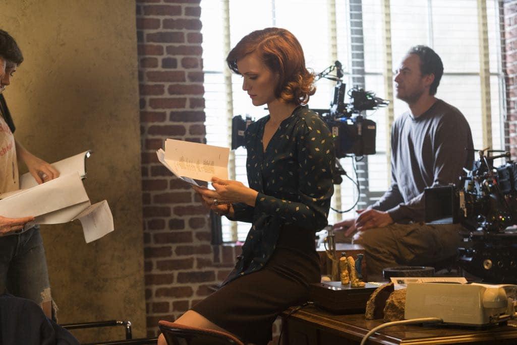 BTS, Kerry Bishe as Donna Clark - Halt and Catch Fire _ Season 3, Episode 5 - Photo Credit: Tina Rowden/AMC