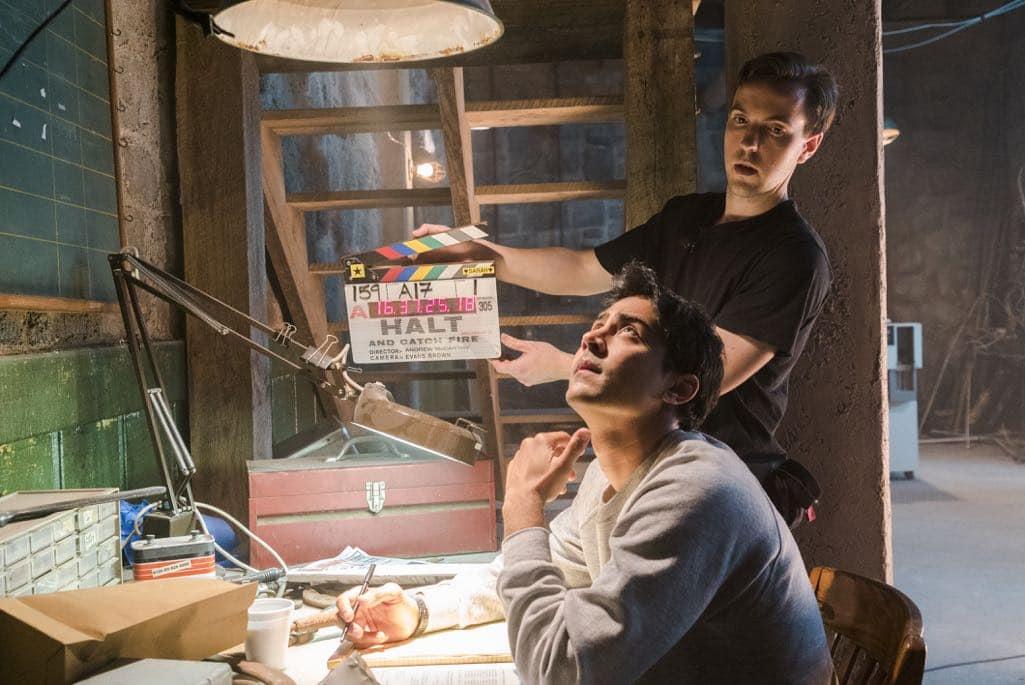 BTS, Manish Dayal as Ryan Ray - Halt and Catch Fire _ Season 3, Episode 1 - Photo Credit: Tina Rowden/AMC