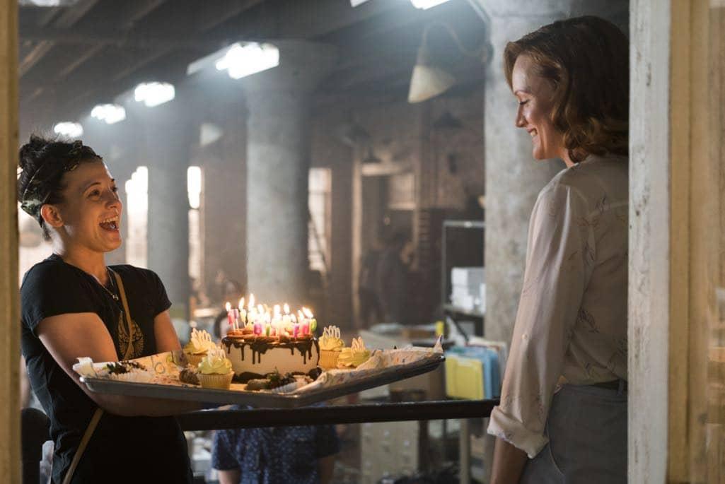 BTS, Kerry Bishe as Donna Clark- Halt and Catch Fire _ Season 3, Episode 5 - Photo Credit: Tina Rowden/AMC