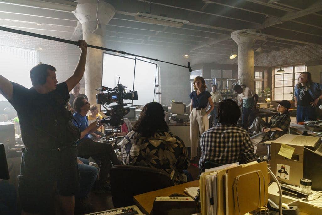 BTS, Kerry Bishe as Donna Clark- Halt and Catch Fire _ Season 3, Episode 8 - Photo Credit: Tina Rowden/AMC