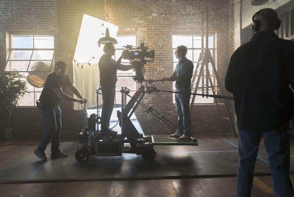 BTS, Scoot McNair as Gordon Clark- Halt and Catch Fire _ Season 3, Episode 2 - Photo Credit: Tina Rowden/AMC