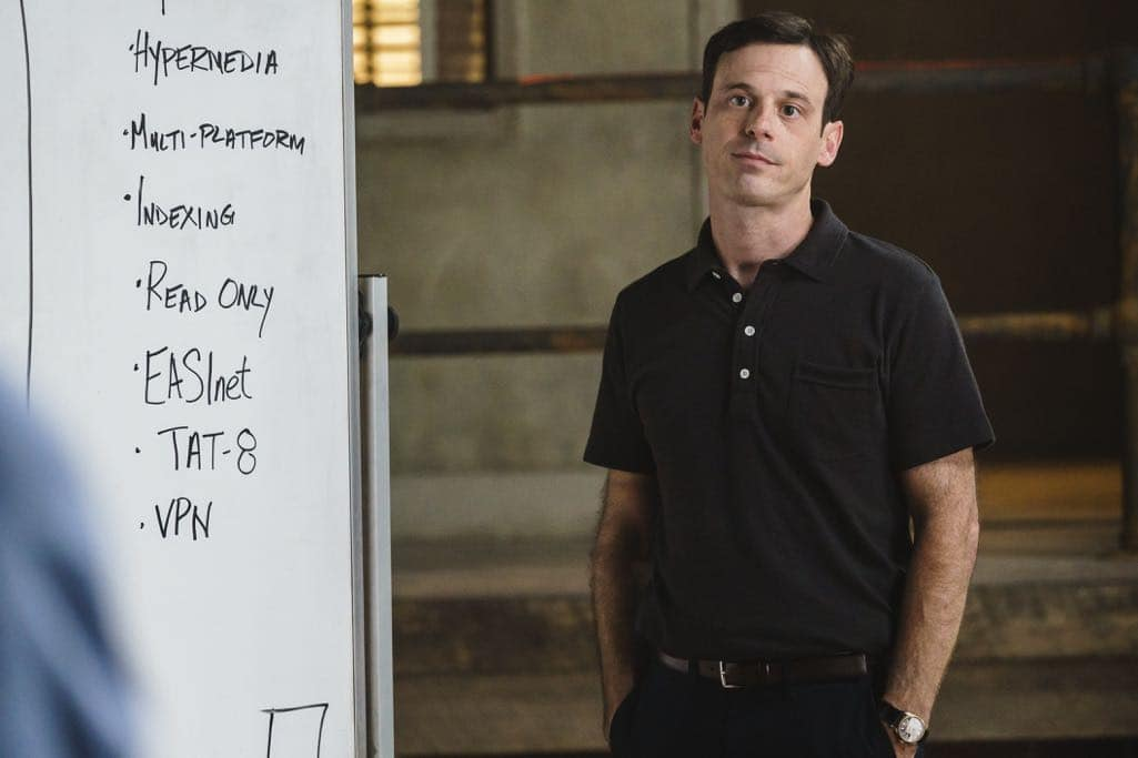 Scoot McNairy as Gordon Clark - Halt and Catch Fire _ Season 3, Episode 10  - Photo Credit: Tina Rowden/AMC