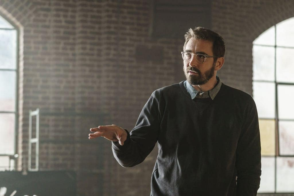 Lee Pace as Joe MacMillan; single - Halt and Catch Fire _ Season 3, Episode 10  - Photo Credit: Tina Rowden/AMC