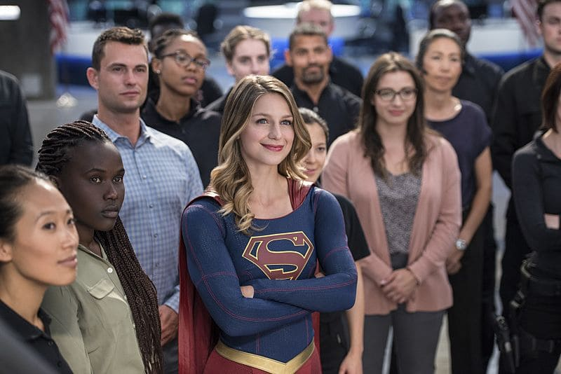 """Supergirl -- """"Welcome to Earth"""" -- Image SPG203c_0402 -- Pictured: Melissa Benoist as Kara/Supergirl -- Photo: Diyah Pera/The CW -- © 2016 The CW Network, LLC. All Rights Reserved"""