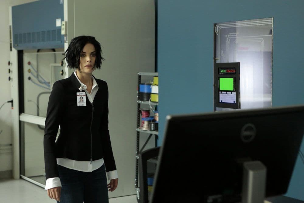 """BLINDSPOT-- """"Her Spy's Mind"""" Episode 206 -- Pictured: Jaimie Alexander as Jane Doe -- (Photo by: Giovanni Ruffino/NBC)"""