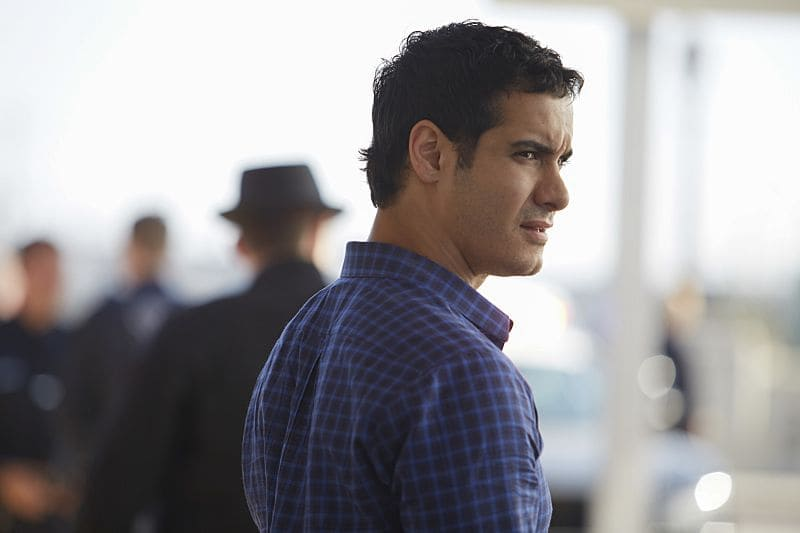"""Little Boy Lost"" -- Team Scorpion must find a boy from Ralph's class who goes missing on a field trip after he accidentally has a run-in with a deadly criminal. Also, Toby gets closer to finding out the identity of Happy's husband, on SCORPION, Monday, Oct. 17 (10:00-11:00 PM, ET/PT), on the CBS Television Network. Pictured: Elyes Gabel. Photo: Erik Voake/CBS ©2016 CBS Broadcasting, Inc. All Rights Reserved"