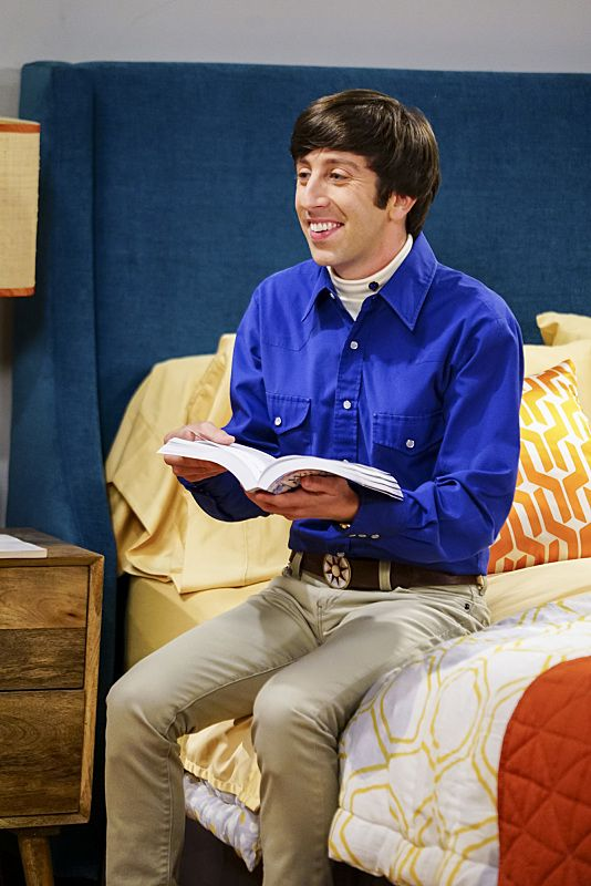 """The Hot Tub Contamination"" -- Pictured: Howard Wolowitz (Simon Helberg). Leonard and Penny must separate a quarreling Sheldon and Amy when their cohabitation does not go as planned, and Sheldon threatens to break off their relationship when Amy refuses to adhere to the bathroom schedule. Also, Howard and Bernadette find unexpected guests at their house when they decide to stay home from a planned vacation, on THE BIG BANG THEORY, Monday, Oct. 17 (8:00-8:31 PM, ET/PT), on the CBS Television Network. Photo: Sonja Flemming/CBS ©2016 CBS Broadcasting, Inc. All Rights Reserved."