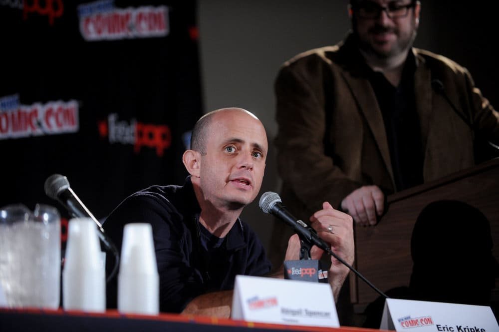 """NEW YORK COMIC CON 2016 -- """"Timeless"""" Panel -- Pictured: Executive Producer Eric Kripke on Sunday, October 9, 2016 from the Javits Center in New York, NY -- (Photo by: Brad Barket/NBC)"""