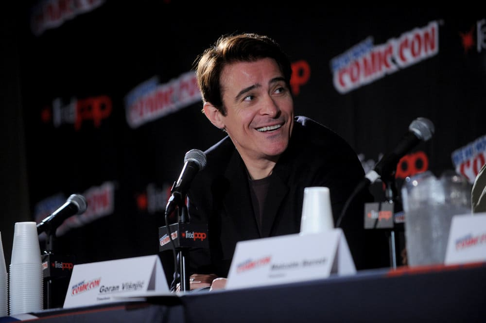 """NEW YORK COMIC CON 2016 -- """"Timeless"""" Panel -- Pictured: Goran Visnjic on Sunday, October 9, 2016 from the Javits Center in New York, NY -- (Photo by: Brad Barket/NBC)"""