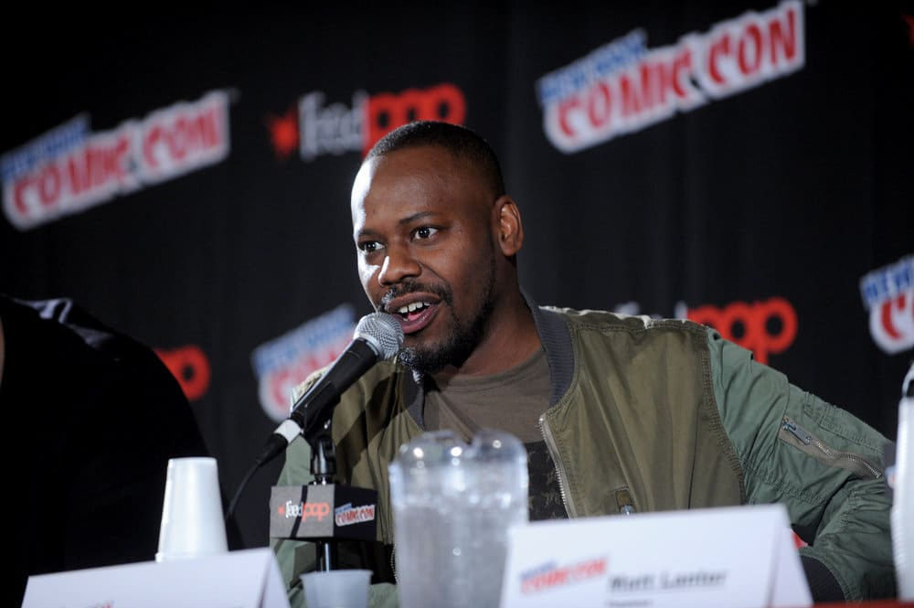 """NEW YORK COMIC CON 2016 -- """"Timeless"""" Panel -- Pictured: Malcolm Barrett on Sunday, October 9, 2016 from the Javits Center in New York, NY -- (Photo by: Brad Barket/NBC)"""