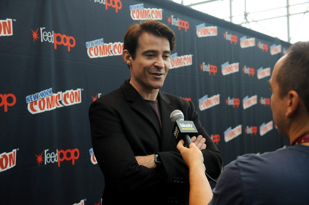 """NEW YORK COMIC CON 2016 -- """"Timeless"""" Press Room -- Pictured: Goran Visnjic on Sunday, October 9, 2016 from the Javits Center in New York, NY -- (Photo by: Brad Barket/NBC)"""