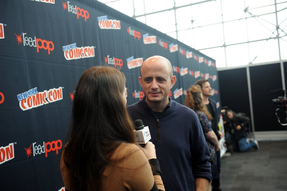 """NEW YORK COMIC CON 2016 -- """"Timeless"""" Press Room -- Pictured: Executive Producer Eric Kripke on Sunday, October 9, 2016 from the Javits Center in New York, NY -- (Photo by: Brad Barket/NBC)"""