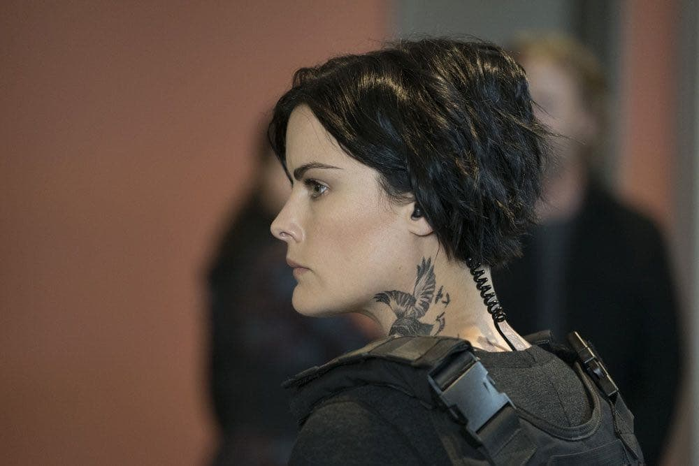 "BLINDSPOT-- ""Condone Untidiest Thefts"" Episode 205 -- Pictured: Jaimie Alexander as Jane Doe -- (Photo by: Peter Kramer/NBC)"