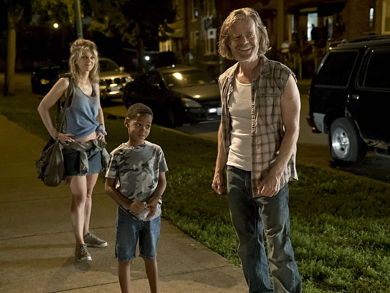 Arden Myrin as Delores and William H. Macy as Frank Gallagher in Shameless (Season 7, episode 2) - Photo: Chuck Hodes/SHOWTIME - Photo ID: shameless_702_c2838