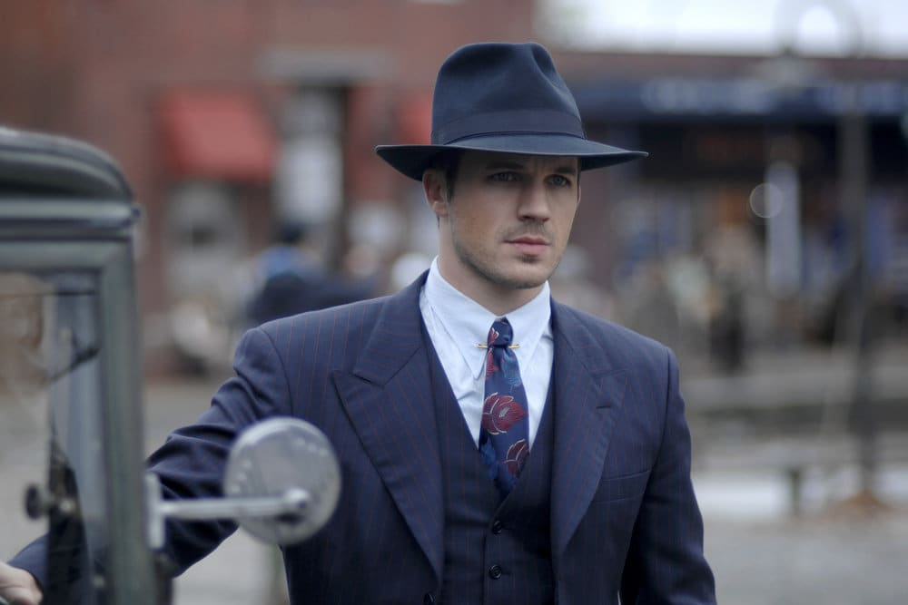 "TIMELESS -- ""Last Ride of Bonnie & Clyde"" Episode 108 -- Pictured: Matt Lanter as Wyatt Logan -- (Photo by: Sergei Bachlakov/NBC)"