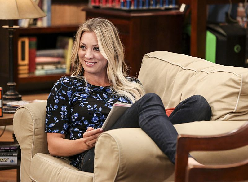 """The Property Division Collision"" -- Pictured: Penny (Kaley Cuoco). Sheldon and Leonard try to divvy up their shared belongings, but can't agree on anything. Also, Koothrappali and Stuart fight to be the most helpful during Bernadette's final weeks of pregnancy, on THE BIG BANG THEORY, Thursday, Dec. 1 (8:00-8:31 PM, ET/PT), on the CBS Television Network. Christopher Lloyd guest stars as Theodore. Photo: Michael Yarish/Warner Bros. Entertainment Inc. © 2016 WBEI. All rights reserved."