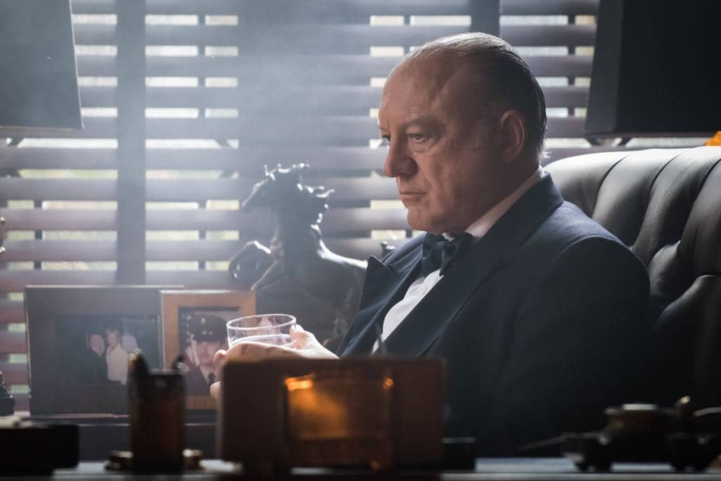 "GOTHAM: Guest star John Doman in the ""Mad City: Beware the Green-Eyed Monster"" episode of GOTHAM airing Monday, Nov. 28 (8:00-9:01 PM ET/PT) on FOX. Cr: Jeff Neumann/FOX."