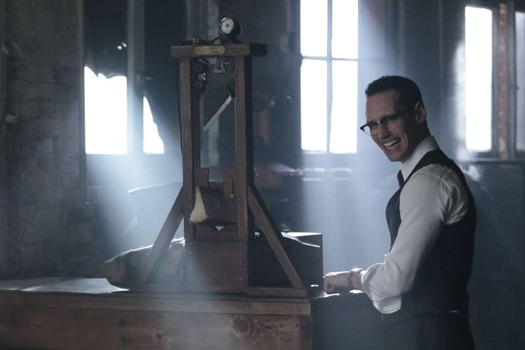 "GOTHAM: Cory Michael Smith in the ""Mad City: Time Bomb"" episode of GOTHAM airing Monday, Nov. 21 (8:00-9:01 PM ET/PT) on FOX. Cr: FOX."