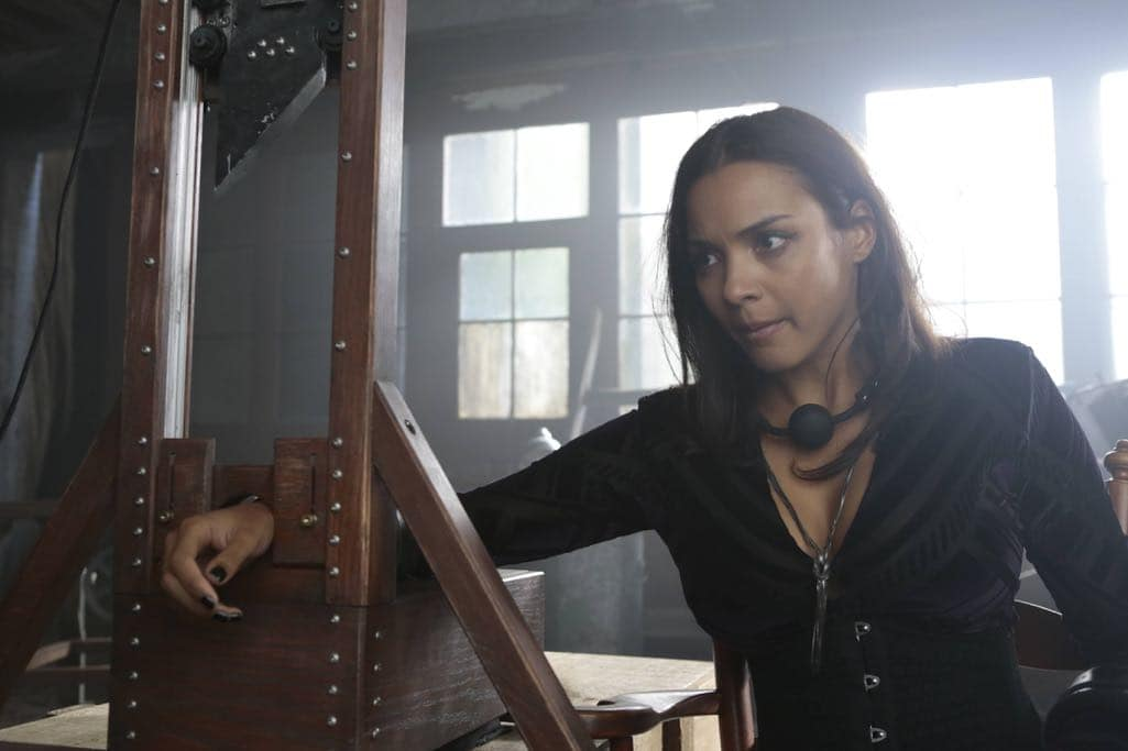 "GOTHAM: Jessica Lucas in the ""Mad City: Time Bomb"" episode of GOTHAM airing Monday, Nov. 21 (8:00-9:01 PM ET/PT) on FOX. Cr: FOX."