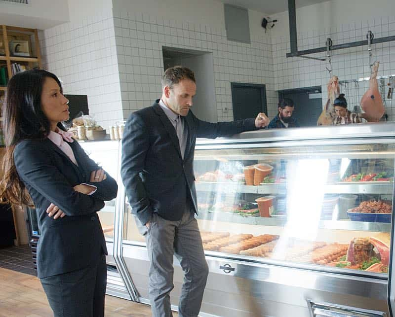 ELEMENTARY Season 5 Episode 8 Photos How the Sausage Is Made 4