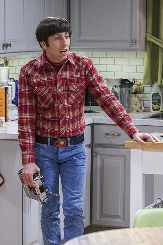 """The Geology Elevation"" -- Pictured: Howard Wolowitz (Simon Helberg). When Bert (Brian Posehn), a Caltech geologist, wins the MacArthur Genius fellowship, Sheldon is overcome with jealousy. Also, Wolowitz finds an old remote control Stephen Hawking action figure he invented, on THE BIG BANG THEORY, Thursday, Nov. 17 (8:00-8:31 PM, ET/PT), on the CBS Television Network. Stephen Hawking returns to guest star as himself. Photo: Monty Brinton/CBS ©2016 CBS Broadcasting, Inc. All Rights Reserved."