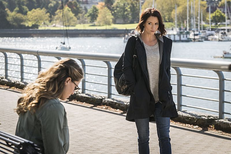 "Supergirl -- ""Changing"" -- Image SPG206a_0012 -- Pictured (L-R): Melissa Benoist as Kara and Chyler Leigh as Alex Danvers -- Photo: Liane Hentscher/The CW -- © 2016 The CW Network, LLC. All Rights Reserved"