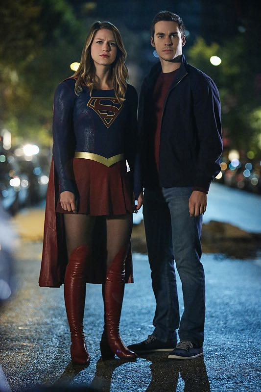 "Supergirl -- ""Changing"" -- Image SPG206b_0188 -- Pictured (L-R): Melissa Benoist as Kara/Supergirl and Chris Wood as Mike/Mon-El -- Photo: Bettina Strauss /The CW -- © 2016 The CW Network, LLC. All Rights Reserved"